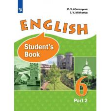 Афанасьева О.В. Английский язык 6 класс Учебник в двух частях. Часть 2 (углубленный)