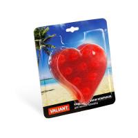 """Valiant мини-коврик для ванны """"Сердце"""" на присосках"""