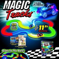 Светящаяся дорога Magic Tracks, 220 деталей