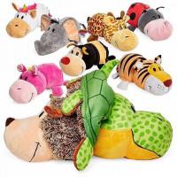 Вывернушка мягкая игрушка. Флип зоопарк, 14 см