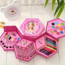 Набор для рисования 46 предметов, Барби